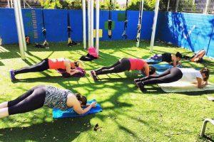אימון כושר קבוצתי ברמת גן