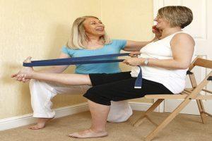 אימון כושר אישי לגיל השלישי בבית