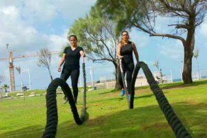 אימון כושר בפארק