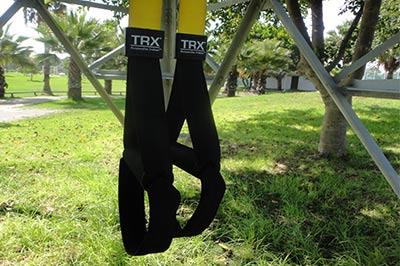 רצועות TRX בפארק