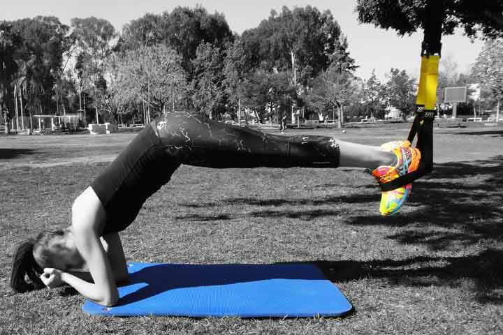 אימון TRX בפארק