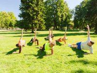 אימון כושר קבוצתי בפארק