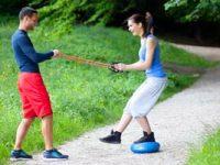 להתאמן בפארק - זה כיף