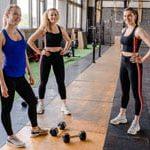 3 בנות באימון