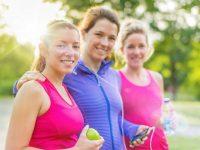 3 נשים עושות ספורט