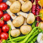 אוסף של ירקות